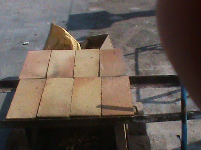 Brick Oven - Roof