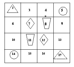 Magic square2 - 4x4 step 1