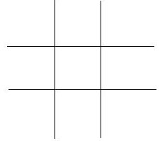 Paper-pencil-games 2: the cross and dots blank grid