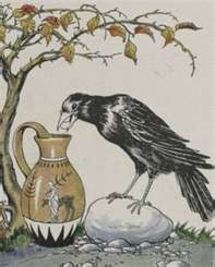 Crow and the Pitcher